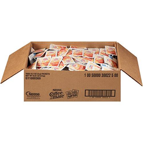 Nestle Coffee-mate Coffee Creamer, Original, 3g powdered packets...