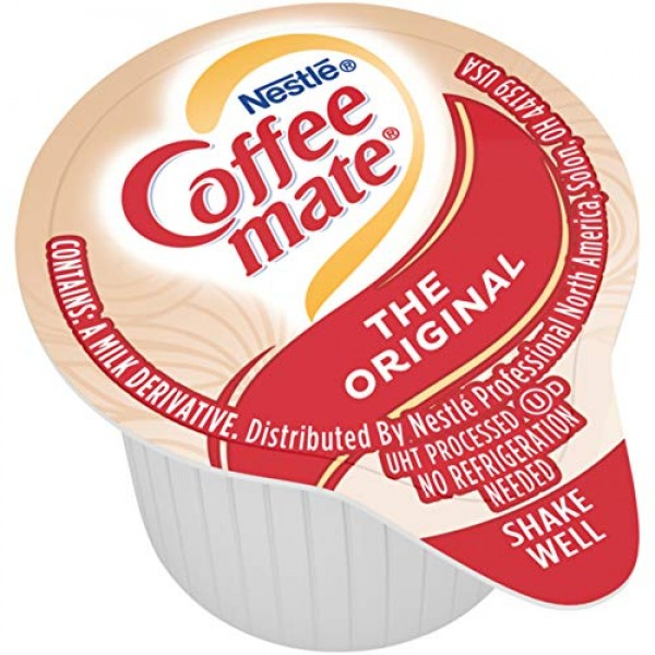 Nestle Coffee-mate Coffee Creamer, Original, Liquid Creamer Sing...