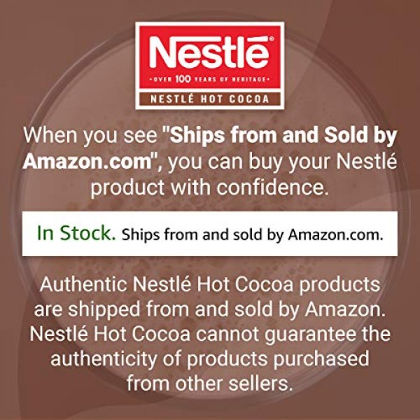 Nestle Hot Chocolate Packets, Hot Cocoa Mix, Rich Chocolate Flav...