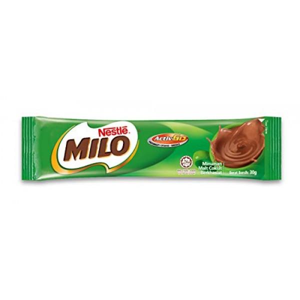 3 Pack Nestle Milo 3 in 1 Activ-Go Nutritious Chocolate Malt Dri...