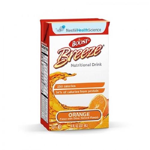 Resource Breeze-Flavor Orange Calories 250 / 8 fl oz Packaging ...