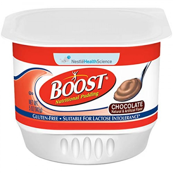 8509460300PK - Boost Nutritional Pudding Chocolate Flavor 5 oz. ...