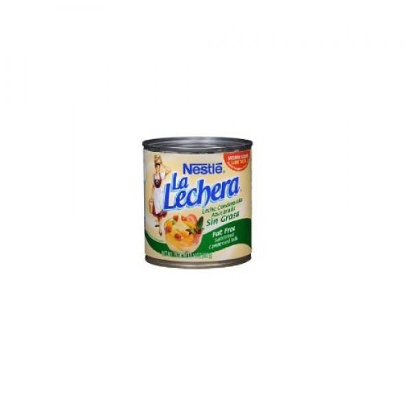 La Lechera Fat Free Sweetened Condensed Milk Pack of 4