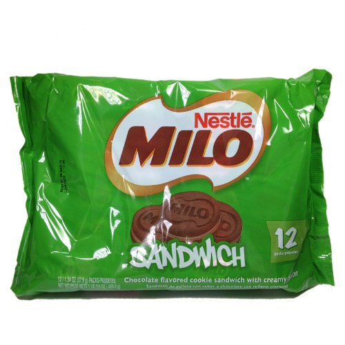 Milo Sandwich Cookie 12 Pack