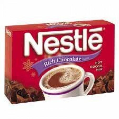 Nestle USA : Hot Chocolate Mix, Rich Chocolate, .71 oz, 50/BX -...