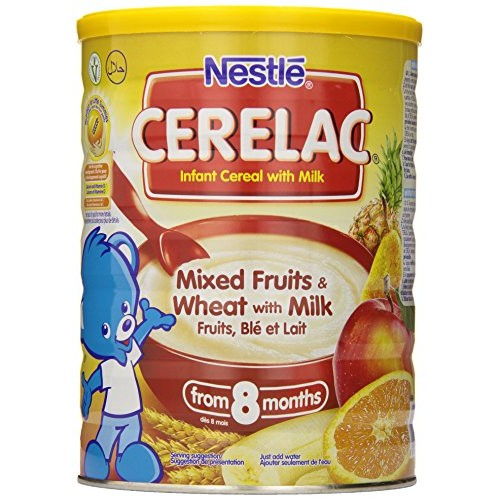 Nestle Cerelac Infant Cereal, Mixed Fruits & Wheat with Milk 1kg...