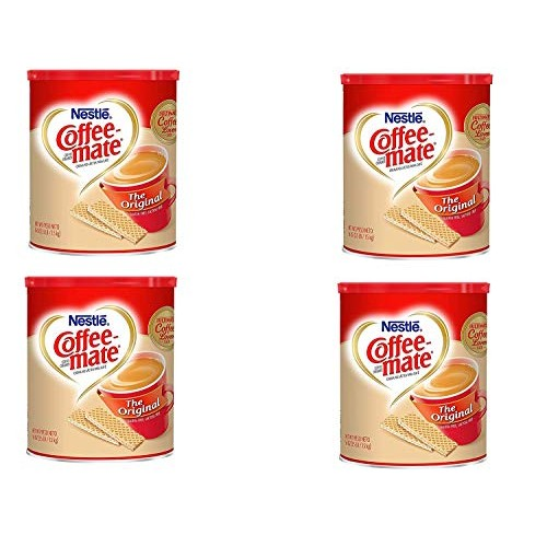 Nestle Coffee-mate Coffee Creamer 56oz. Canister 4 Pack