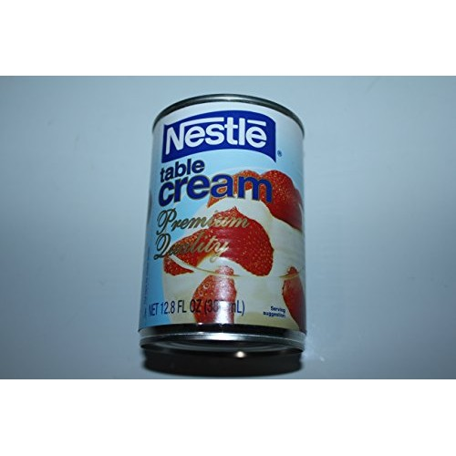 Nestle Table Cream Premium Quality Pack of Four Cansv12.8 Fl Oz ...