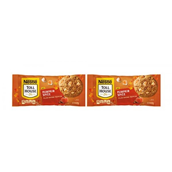 Nestle Toll House Pumpkin Spice Flavored Filled Baking Truffles ...
