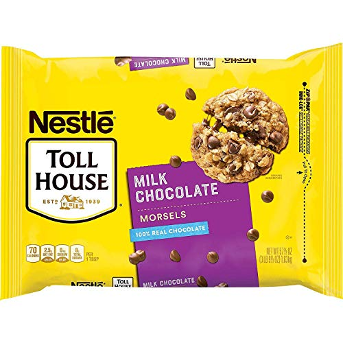 Nestle Toll House Milk Chocolate Morsels Chips ~ 3 lb bag