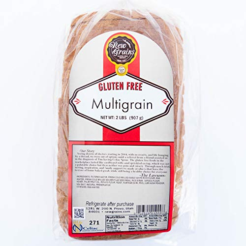 New Grains Multi-grain Sandwich Bread, 32 oz Loaves (4 Pack)
