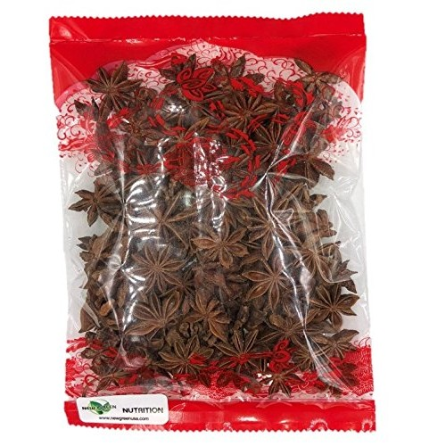 Premium Whole Dried Star Anise Seeds Anis Estrella 4oz Bag