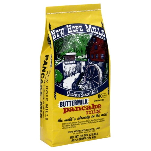 New Hope Mills Mix, Pancake, Buttermilk, 2-Pound Pack of 6