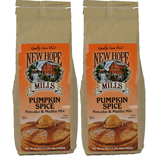 New Hope Mills Pumpkin Spice Pancake & Muffin Mix - 24 oz - Kosh...