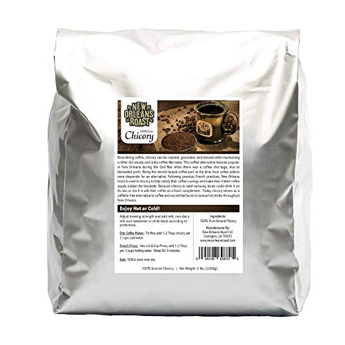 New Orleans Roast Pure French Chicory - 5 POUND BAG
