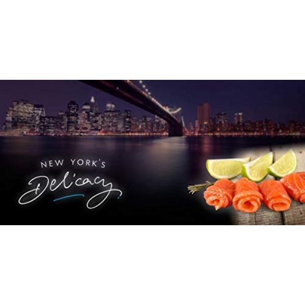 2 x 8 Oz. 1 Lb. New Yorks Delicacy, Most Awarded, Pre-Sliced,...