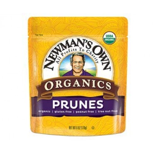 Newmans Own Organics California Prunes, Pack of 2 12-Ounce Po...