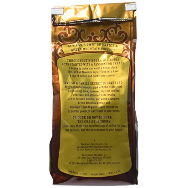Newmans Own Organic Special Blend Ground Decaf Coffee, 10-Ounce...