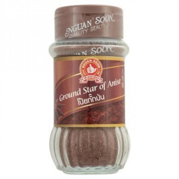 Nguan Soon , Ground Star of Anise Powder , 1.59 Oz