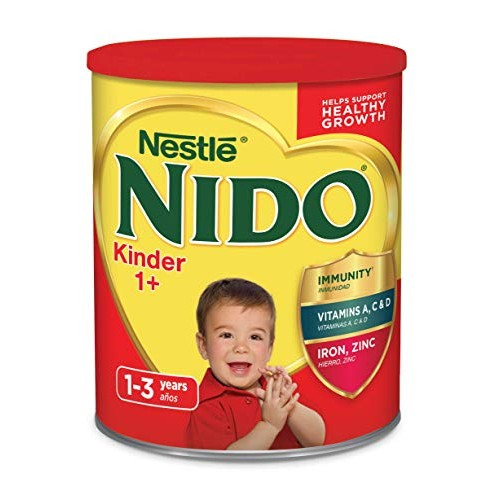 Nestle Nido Kinder 1+ Powdered Milk Beverage 3.52 lb. Canister (...