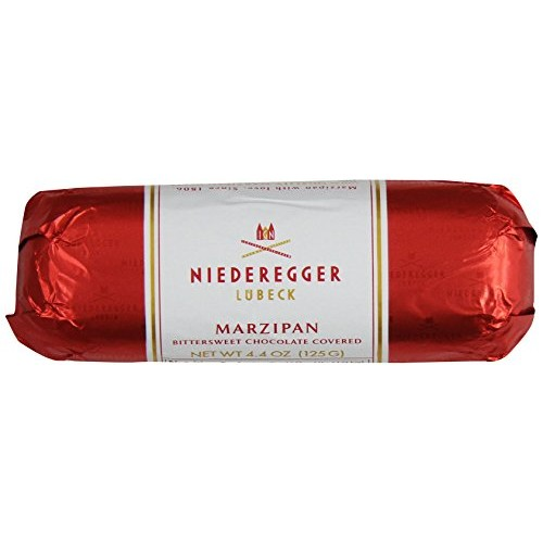 Niederegger Chocolate Covered Marzipan Loaf, 4.4-Ounce Pack of 5