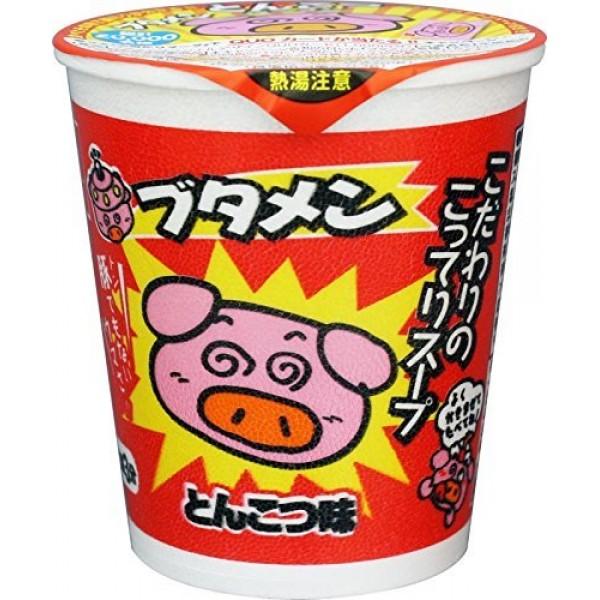 Butamen Pig Noodle Pork Bone Taste 1.2oz 10pcs Japanese Cup Rame...
