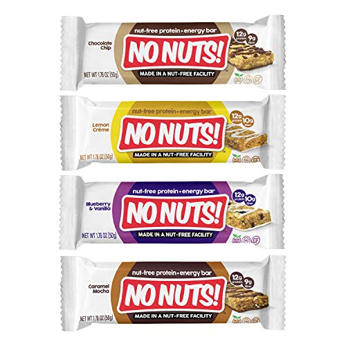 No Nuts! Protein Bars Energy Bars - 100% Nut Free Vegan Protein ...