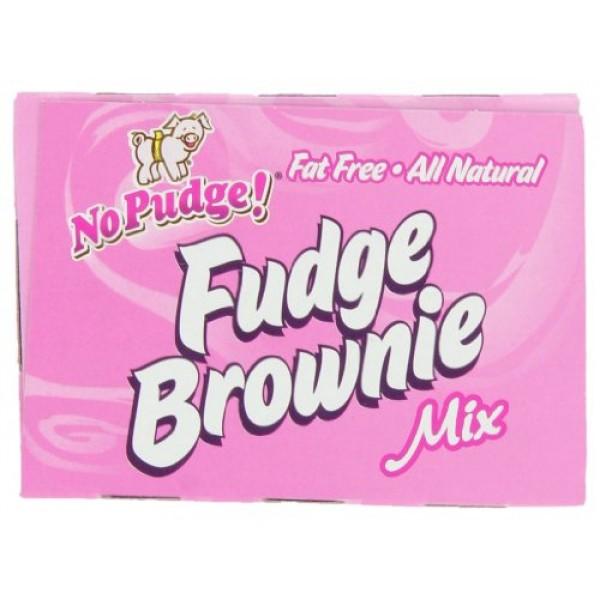 No Pudge! Fat Free Fudge Brownie Mix, Original, 13.7-Ounce Boxes...
