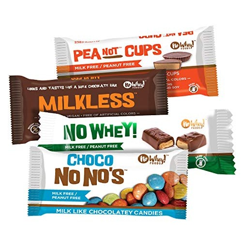 No Whey Foods - Four Pack Favorite Sampler Milkless bar, Choco ...