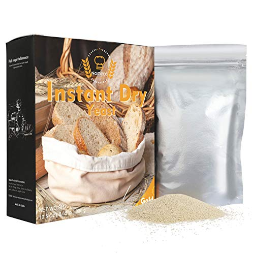 Nomeca Instant Dry Yeast for Bread Making, Fast Acting Instant Y...