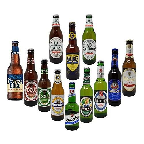 Non-Alcoholic Beer Variety Pack, Becks, Bitburger, Buckler, Cla...