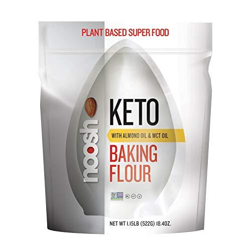 NOOSH KETO 1 to 1 All Purpose Almond Flour with Almond Oil & MCT...