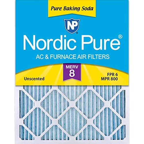 Nordic Pure 18x20x1 Pure Baking Soda Odor Deodorizing AC Furnace...