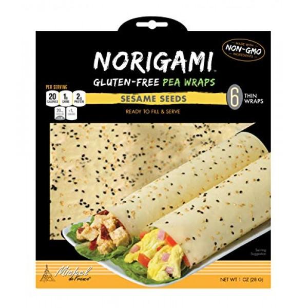 Norigami Egg Wraps Pea Protein - High Protein,Low Carb,Vegetaria...