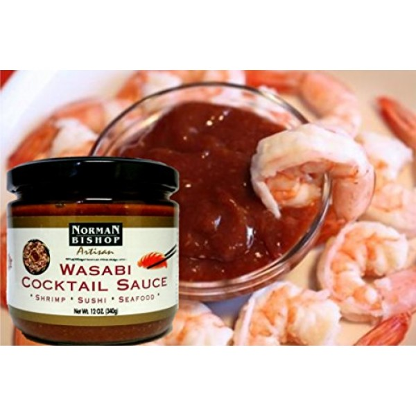 Norman Bishop Wasabi Cocktail Sauce. Wonderful For Shrimp Cockta...