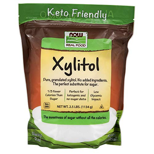 NOW Foods, Xylitol, Pure with No Added Ingredients, Keto-Friendl...