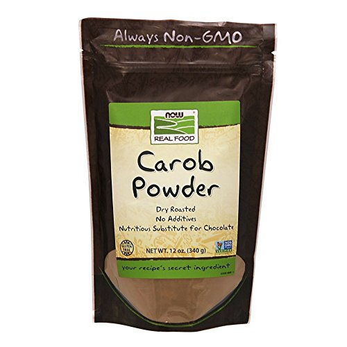 NOW Foods, Carob Powder, Dry Roasted, Additive-Free, Nutritious ...