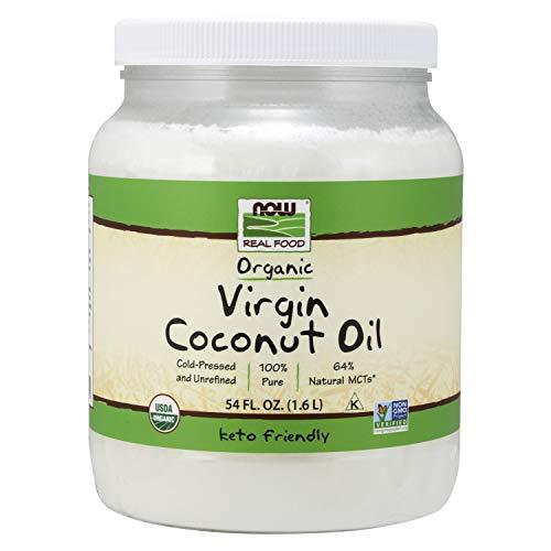 NOW Foods, Certified Organic Virgin Coconut Cooking Oil, Cold-Pr...
