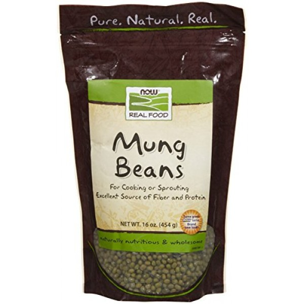 NOW Foods, Mung Beans, For Cooking and Sprouting, Excellent Sour...