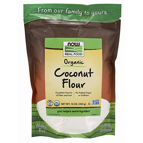 NOW Foods, Organic Coconut Flour, Unsweetened, Excelent Source o...