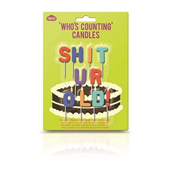 NPW-USA INC. W10831 Cake Candles