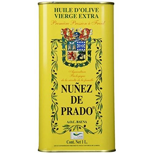 Nunez De Prado Extra Virgin Olive Oil Tin, 33.8 Ounce