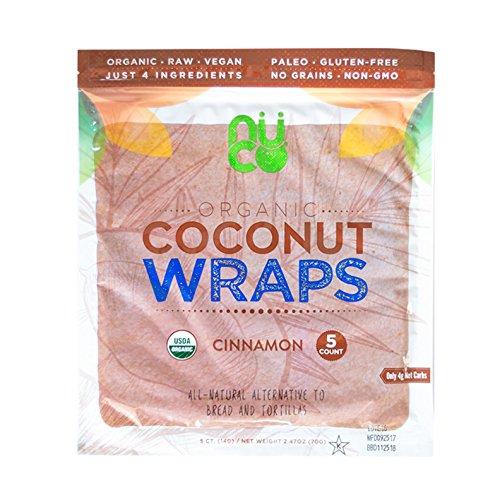 NUCO Certified ORGANIC Paleo Vegan Gluten and Grain Free Cinnamo...