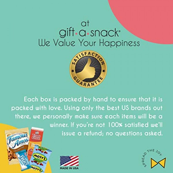 Snack Box Variety Pack 40 Count Graduation 2021 Crave Gift Bas...