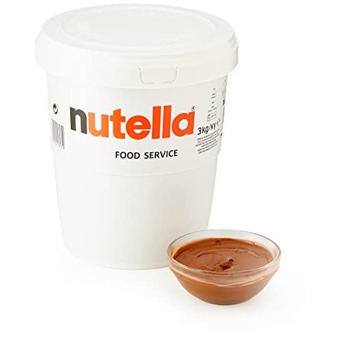 Ferrero Nutella Chocolate Hazelnut Spread 6.6 Lbs 3kg Tub [Th...