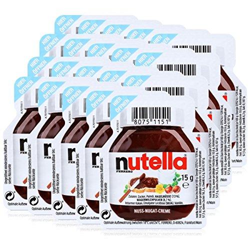Nutella 20 - 20 X 15G Serving