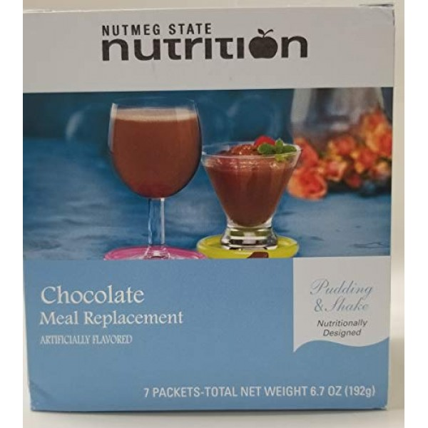 Nutmeg State Nutrition High Protein Meal Replacement Weight Loss...