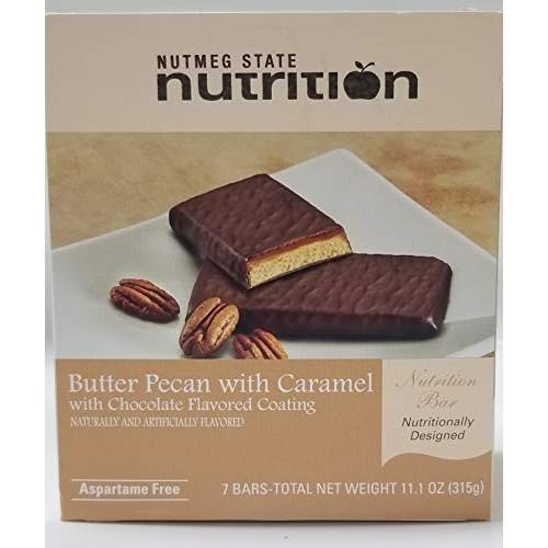 Nutmeg State Nutrition High Protein Snack Bar/Diet Bars - Butter...