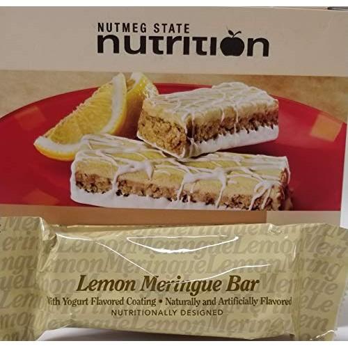 Nutmeg State Nutrition High Protein Snack Bar/Diet Bars - Lemon ...