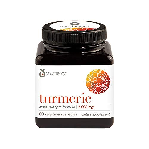 Youtheory Turmeric Extra Strength with Black Pepper BioPerine ...